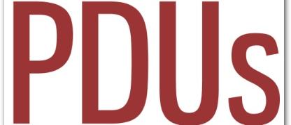 Como cadastrar PDUs para manter sua certificação